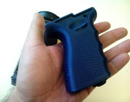 Grip for Olympus Air A01 and Sony 3D printable model 4