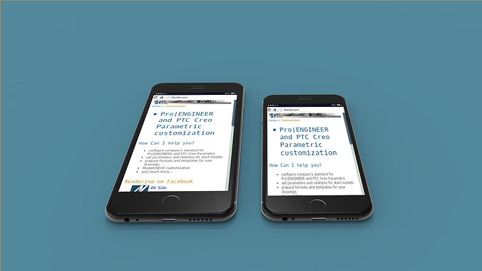 iphone 6 plus - original dimensions 3d model max ige igs iges stp 1