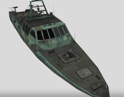 3D model Navy Patrol Boat