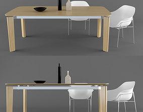 BB Italia Oskar table 3D model