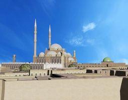 Mosque of Muhammad Ali 3D asset