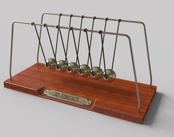 3D model Newtons Cradle