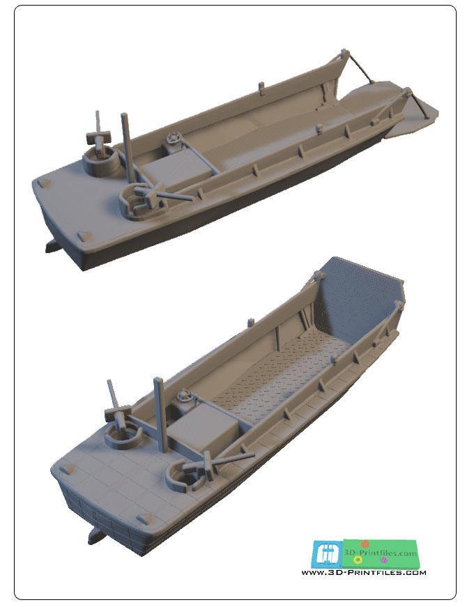 US landingcraft -stl file-