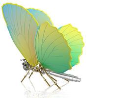 3D model CAD butterfly