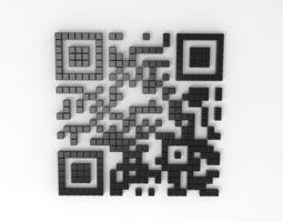 3D model QR code