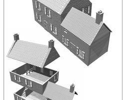 france or ardennen building -stl file 3D print model