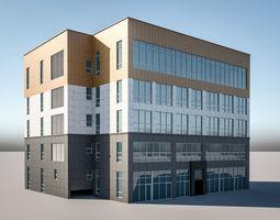 building exterior-public 3D