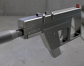 smg 7 hand gun 3D