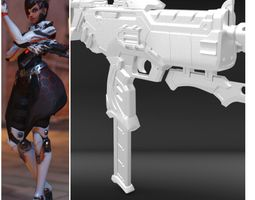 Sombra Talon Skin Gun 3D PRINTING FILES