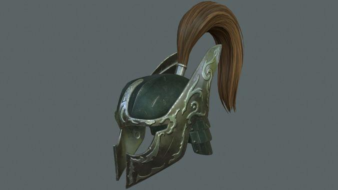battle helmet 3d model max obj 1