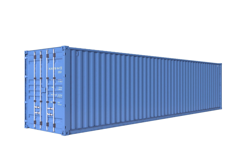 40ft Shipping Container >> 40ft Shipping Container Detailed 3d Model