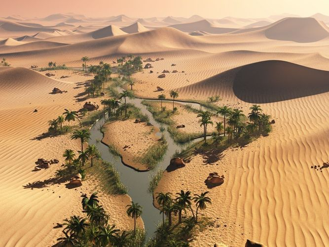 the long oasis in vue 3d model vue 1