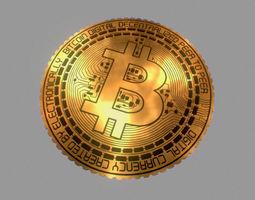 Low poly Bitcoin - 3D Printable