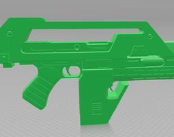3D print model M41A Pulse Rifle