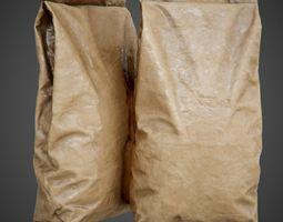 3D paper bag - PBR