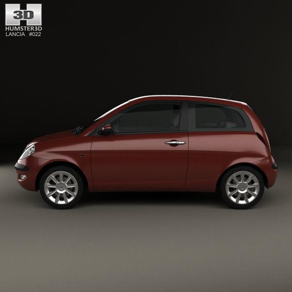 Lancia Ypsilon 2003 3D model | CGTrader