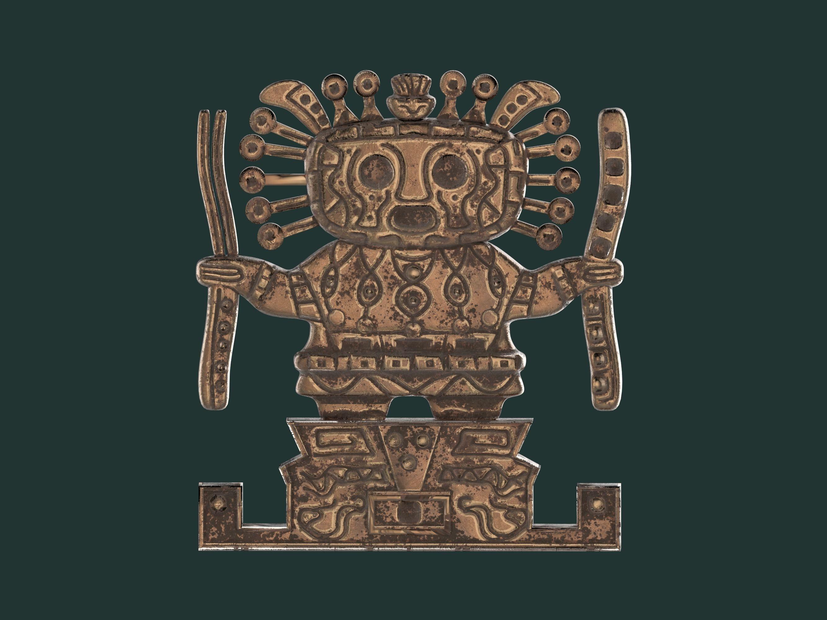 Viracocha Ancient Inca God