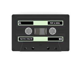 3D model Compact cassette PBR 001