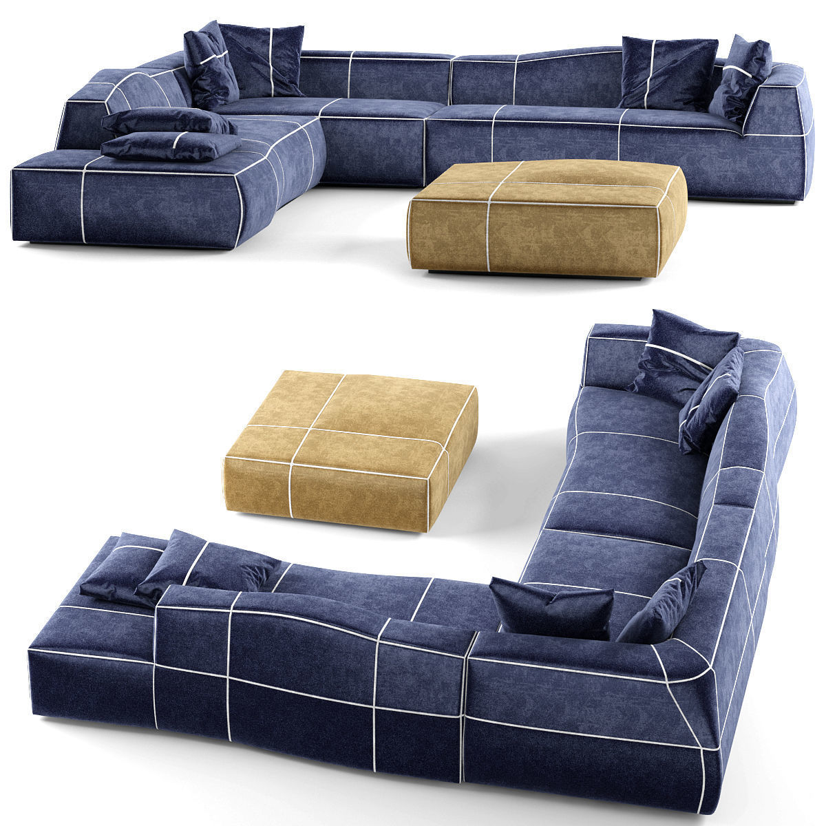 Combination leisure sofa