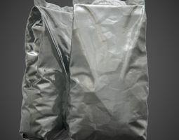 Foil Package - PBR packet 3D model