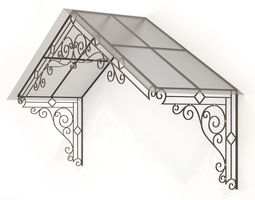 forged canopy 3d model