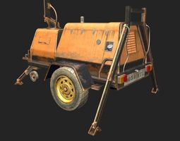 Movable Generator 3D model