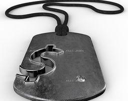 3D print model Dollar Symbol