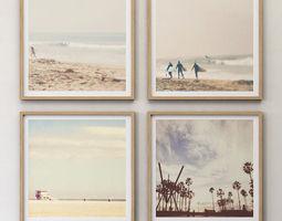 3D JUNIQE Travel set framed