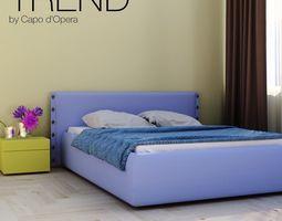 3D model Bed Trend Capo dOpera