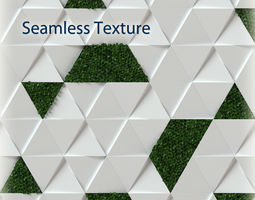 3D wall panel - Seamless Texture