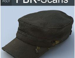 3D Old Cap High Poly