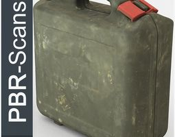 Suitcase High Poly 3D model