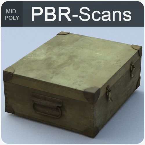trunk middle poly 3d model obj fbx ma mb 1