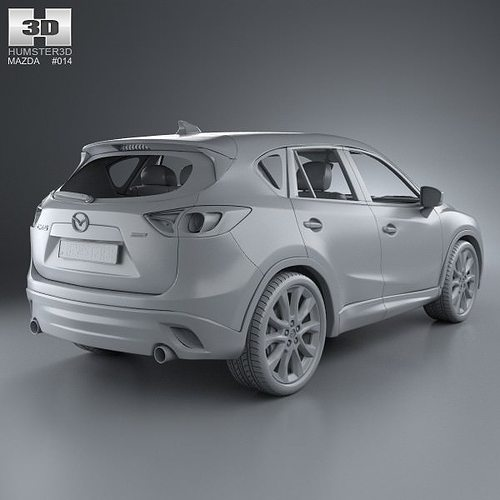 mazda cx 5 2012 3d model max obj 3ds fbx c4d lwo lw lws. Black Bedroom Furniture Sets. Home Design Ideas
