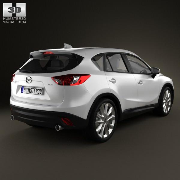 Mazda Com Cx5: Mazda CX-5 2012 3D Model MAX OBJ 3DS FBX C4D LWO LW LWS