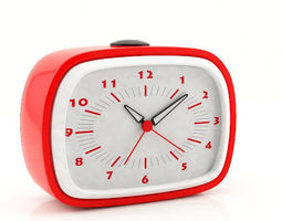 Plastic Alarm Clock 3D model