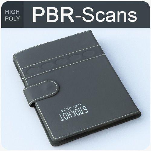 notebook high poly 3d model obj fbx ma mb 1