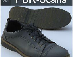 shoes 3D model PBR Shoe Middle Poly