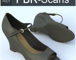 3D Shoe High Poly