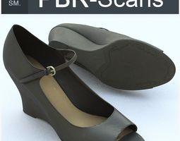 unrealengine4 Shoe Middle SM 3D model PBR