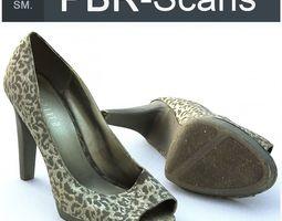 3D model PBR High Heel Middle SM