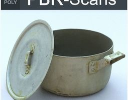 Saucepan High Poly 3D PBR