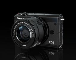 3D model Canon eos m100