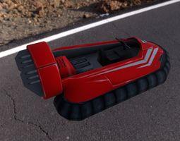 3D asset Hovercraft