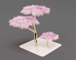 Fluffy Tree for Cat 3D