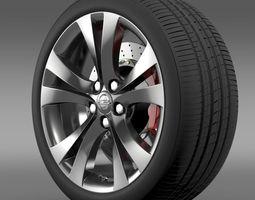 Opel Insignia wheel 3D Model
