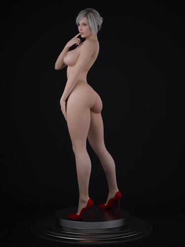 Nude Female Character 3D Model Max - Cgtradercom-6574