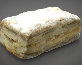 3D model PUFF PASTRY