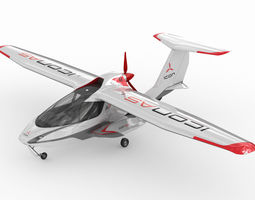 rigged 3d icon a5