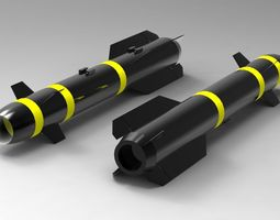 Hellfire Missile 3D model